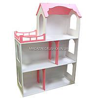 Игрушечный кукольный деревянный домик Макси без лестницы. Обустройте домик для кукол