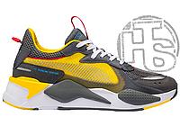 Мужские кроссовки Puma RS-X Transformers Yellow/Grey Bumblebee 370701-02 42