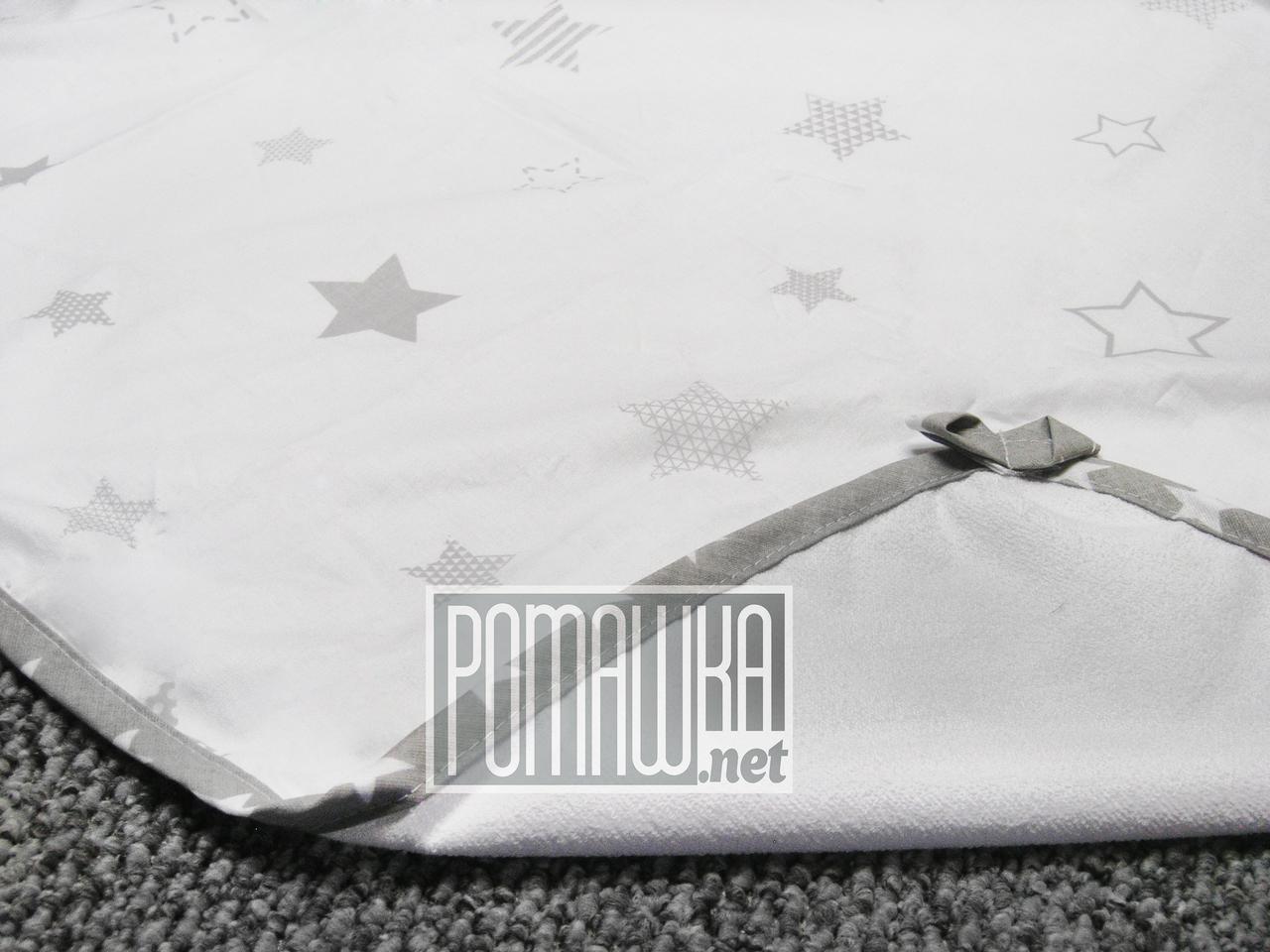 Непромокаемая пеленка 80х60 см для новорожденного (100% хлопок) двухсторонняя многоразовая 4242 Белый