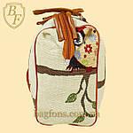 Женская дорожная сумка, саквояж с совами, фото 3