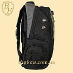 Рюкзак городской школьный SwissGear 17л Серый (8815-1), фото 3