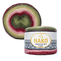 Пряжа Nako Angora Luks Color 81909 (Нако Ангора Люкс Колор)