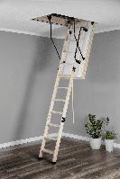 Чердачная лестница OMAN Polar - утеплитель 86 мм 120x70 h280см