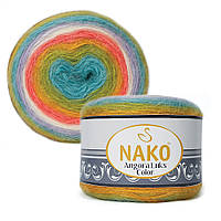 Пряжа Nako Angora Luks Color 81910 (Нако Ангора Люкс Колор)