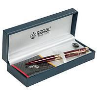 Шариковая ручка Regal в подарочном футляре L, бордовый (R35501.L.B)