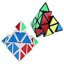 Кубик Рубика Пирамидка 10х10см (2 цвета), фото 3