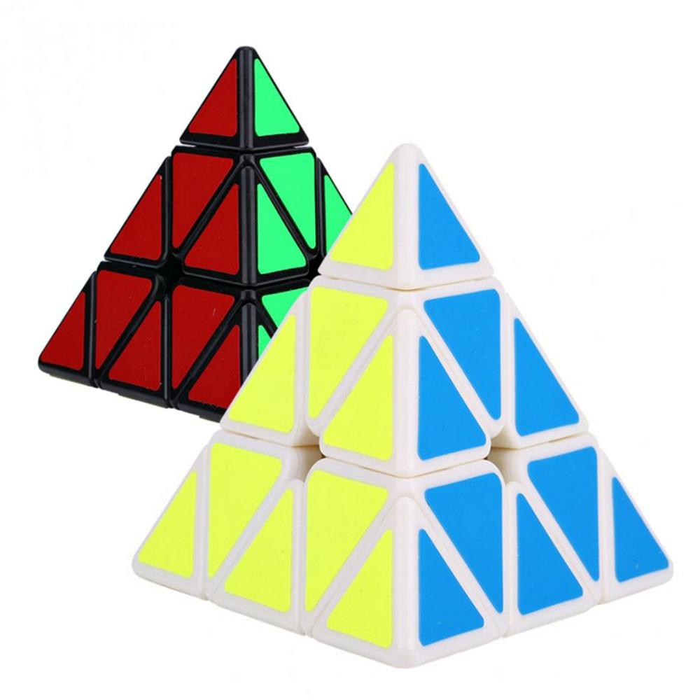 Кубик Рубика Пирамидка 10х10см (2 цвета)