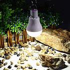 Лампа портативная с солнечной зарядной панелью. Лампа туристическая с солнечной зарядкой, фото 4