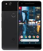 "Смартфон Google Pixel 2 128GB Just Black +стекло и чехол, Snapdragon 835, экран 5"" Amoled, 12,2/8Мп, NFC, 1sim"