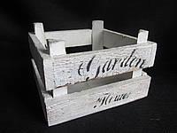 Ящик деревянный 15х15х10 см, (75)