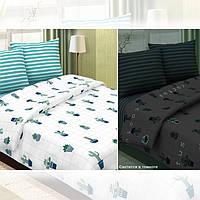 Кактусы (светится), постельное белье из поплина (100% хлопок), фото 1