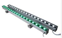 Линейный светильник 18W 1000мм IP68 Wall washer Ecolend синий/ зеленый/ красный/ фиолетовый/ жёлтый