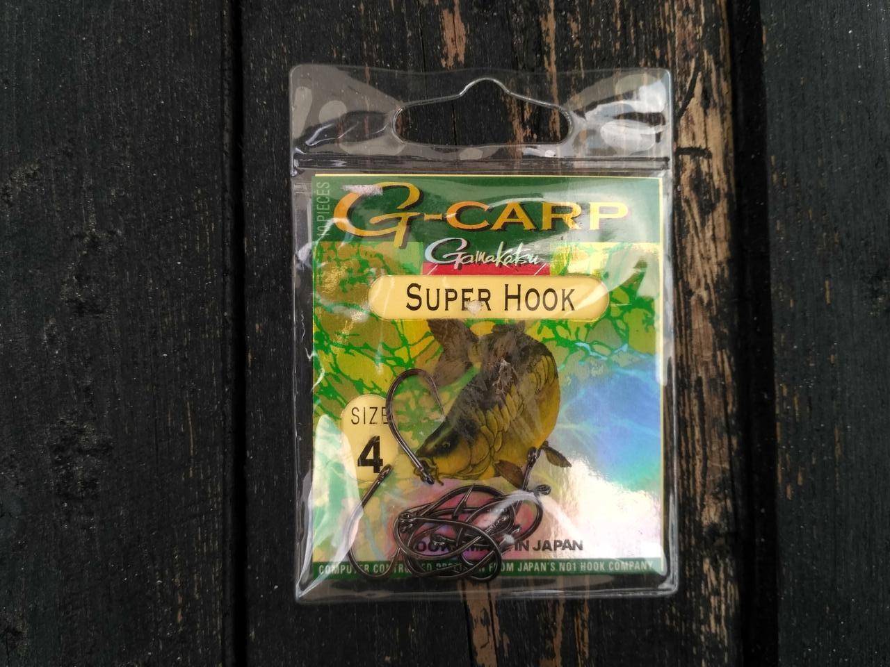 Крючок Gamakatsu G-Carp Super Hook