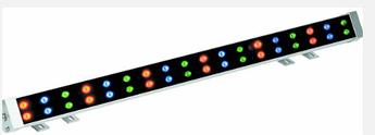 Линейный светильник 36W 1000мм IP65  Wall washer Ecolend RGB