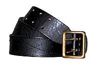 Офицерский ремень портупея черный