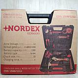 Шуруповерт акумуляторний з набором інструментів NORDEX CDS 1500/12LI, фото 4