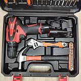 Шуруповерт акумуляторний з набором інструментів NORDEX CDS 1500/12LI, фото 8