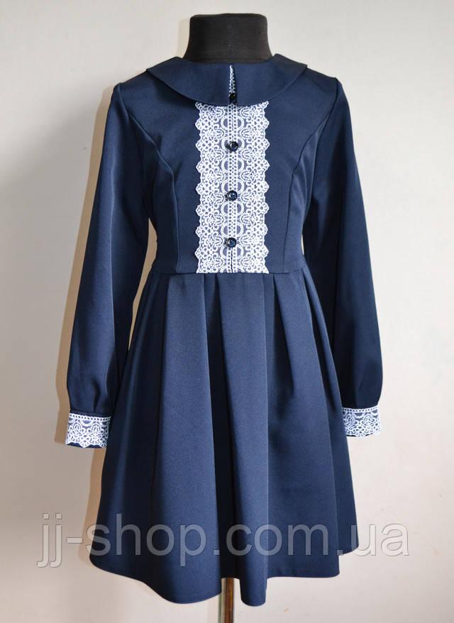 Нарядное школьное платье на девочек