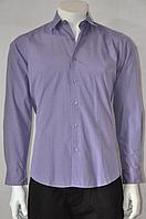 Рубашка сиреневая 42 рзм.
