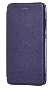 Чехол (книжка) премиум для Xiaomi Redmi 7 синяя