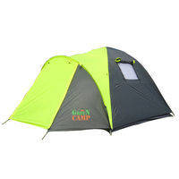 Палатка 3-х местная GreenCamp 1011, фото 2