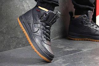 Кроссовки мужские Nike Lunar Force 1 темно синие 4353, фото 2