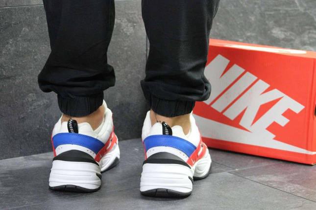 Кроссовки мужские белые с красным Nike М2K Tekno 6239, фото 2