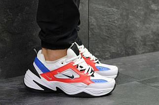 Кроссовки мужские белые с красным Nike М2K Tekno 6239, фото 3