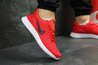 Кроссовки мужские красные Nike 5381, фото 2