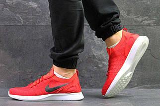 Кроссовки мужские красные Nike 5381, фото 3