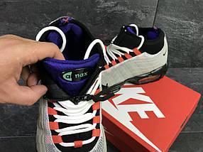 Кроссовки мужские серые с черным Nike Air Max 95 Sneakerboot РП-6286, фото 3