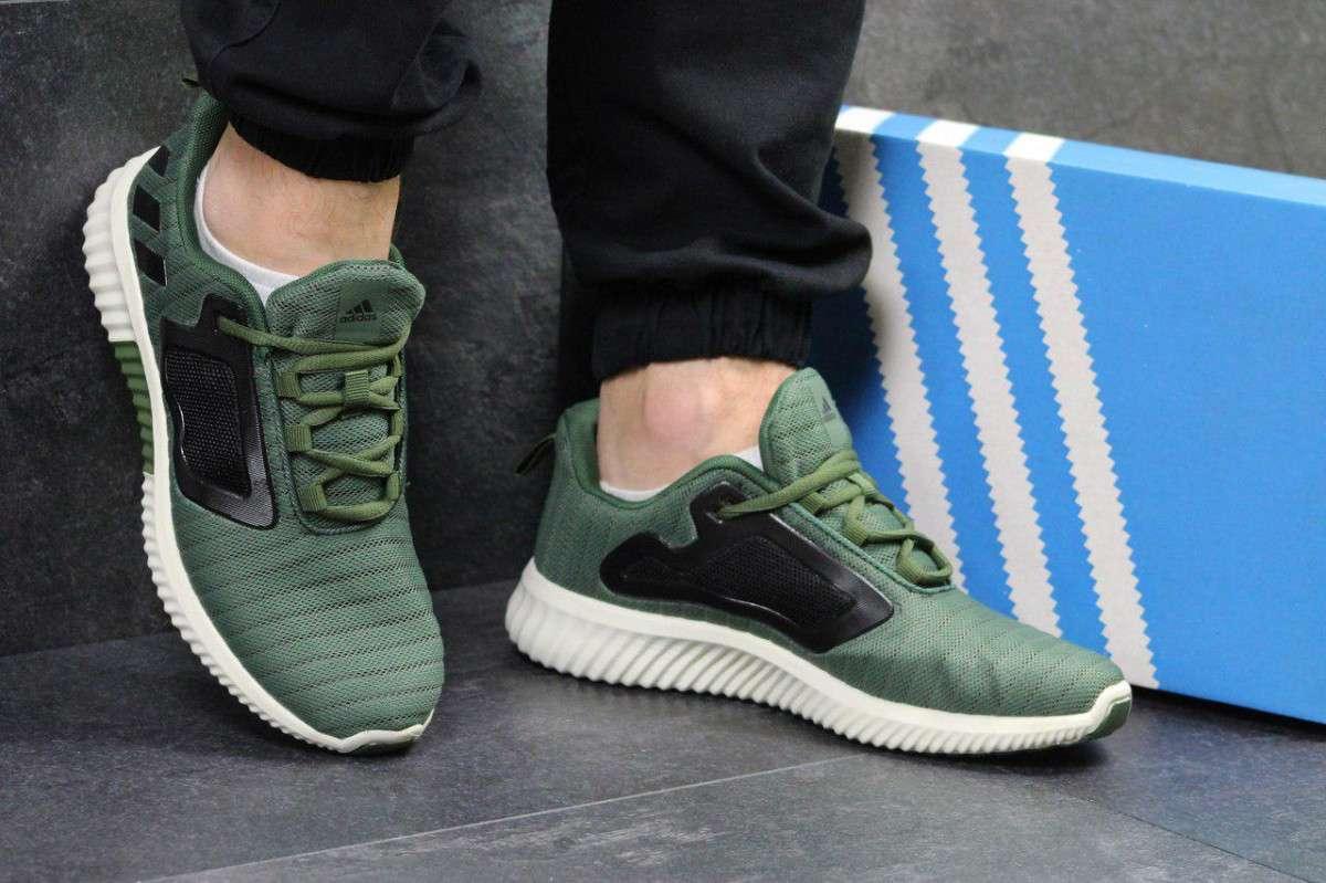 Кроссовки мужские темно зеленые Adidas Climacool M 5328