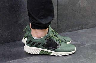 Кроссовки мужские темно зеленые Adidas Climacool M 5328, фото 3
