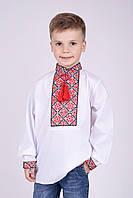 Вышиванка для мальчика на длинный рукав. Размеры 110 - 170, фото 1