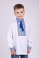Вышитая рубашка для мальчика. Размеры 110 - 170
