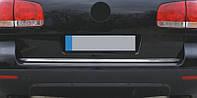Хром накладка нижней кромки багажника volkswagen tiguan (фольксваген тигуан) , нерж.