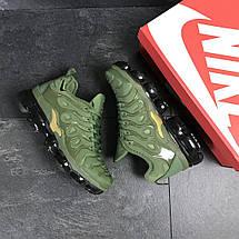 Мужские кроссовки зеленые Nike Air Vapormax Plus 7755, фото 3