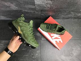 Мужские кроссовки зеленые Nike Air Vapormax Plus 7755, фото 2