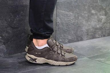 Мужские кроссовки коричневые Asics 7183