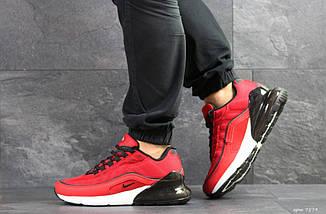 Мужские кроссовки красные Nike Air Max 95 Max 270 7579, фото 3
