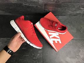 Мужские кроссовки красные Nike Free Run 5.0 7676, фото 2