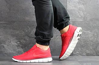 Мужские кроссовки красные Nike Free Run 5.0 7676, фото 3