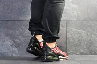 Мужские кроссовки красные с черным Nike Air Max 270 7628, фото 3
