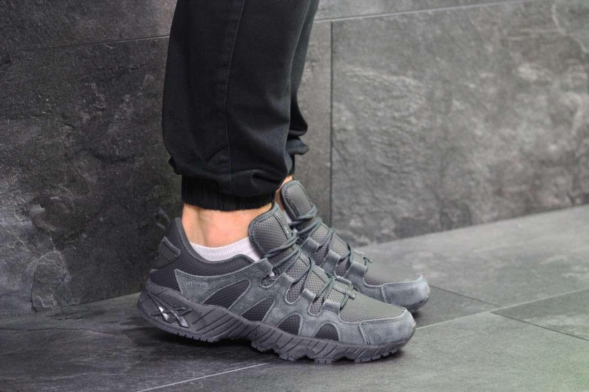 Мужские кроссовки серые Asics 7184