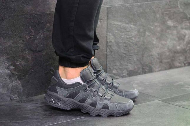 Мужские кроссовки серые Asics 7184, фото 2