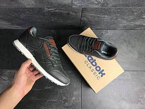 Мужские кроссовки серые Reebok 7439, фото 2