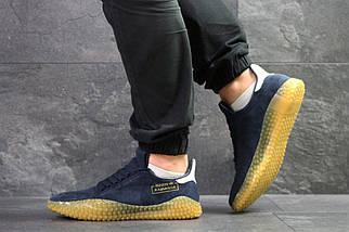 Мужские кроссовки темно синие Adidas Kamanda 8087, фото 2