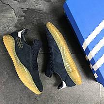 Мужские кроссовки темно синие Adidas Kamanda 8087, фото 3