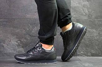 Мужские кроссовки темно синие Reebok Classic 7236, фото 3
