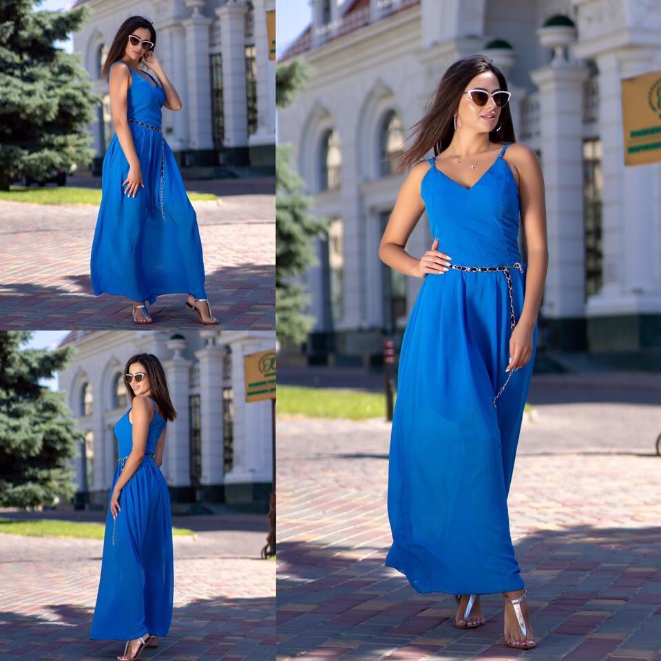 Платье / шифон / Украина 15-683, фото 1